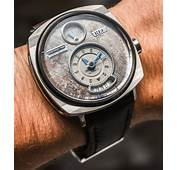 REC P 51 Mustang Watch With Dials Made Of Vintage Ford