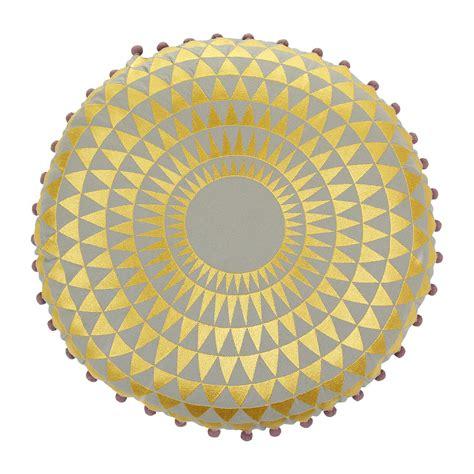 gold pattern cushion buy niki jones concentric pillow 216 50cm gold on dove