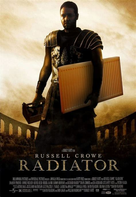 russell crowe radiator poster  poke