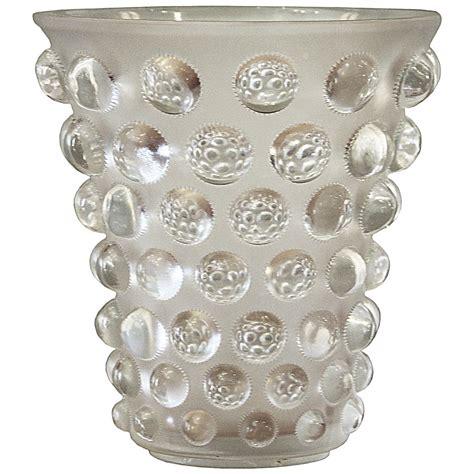 Rene Lalique Vases by Ren 233 Lalique Vase Quot Bammako Quot 1934 1947 At 1stdibs