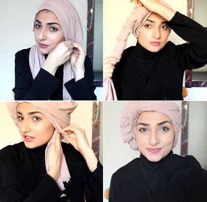 tutorial turban ascia tutorial hijab turban dengan aksen lilit khas ascia akf