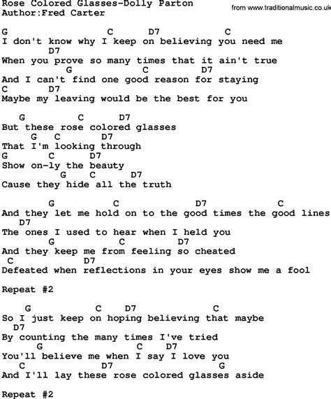 colored glasses lyrics country colored glasses dolly parton lyrics and