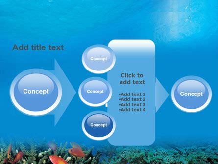 Coral Reef Powerpoint Template Backgrounds 01691 Poweredtemplate Com Coral Reef Powerpoint Template Free