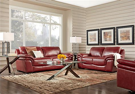 grand palazzo leather 2 pc living room classic contemporary