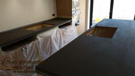 xnovinky betonblad maken keuken