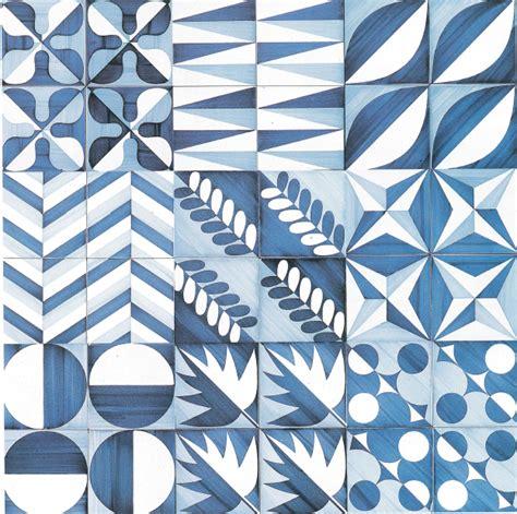 gio ponti piastrelle so65 piastrelle gi 242 ponti blue patterned tile at l hotel