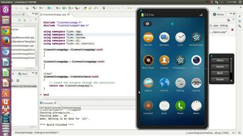 tizen vs android how to run tizen application in tizen emulator run your tizen app in emulator