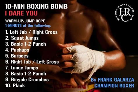 At Home Boxing Workouts 1000 Ideas About Boxing Workout On