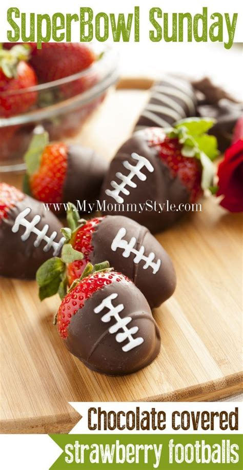 Chocolate Covered Strawberries Decorations by Football With Ideas Decorations Recipes