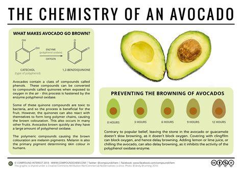 avocados turn brown  chemistry  avocados