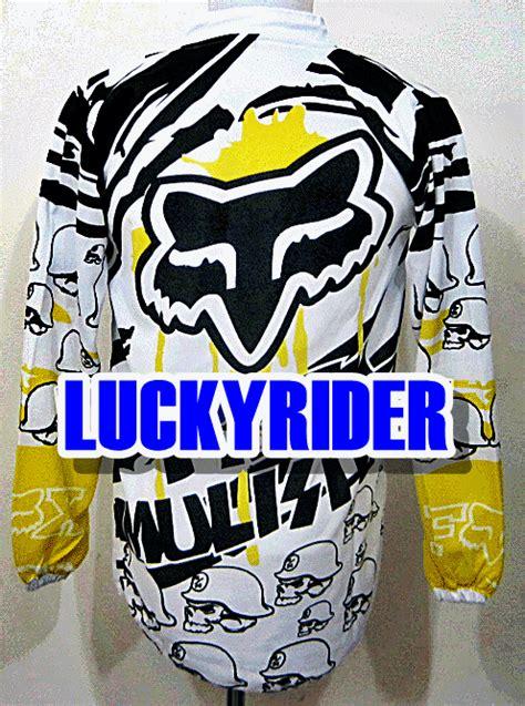 Baju Lengan Panjang Fox kemeja kaos jersey biker lucky rider page 2