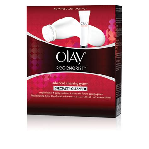 Olay Megasonic olay regenerist megasonic specialist cleanser from olay buy now at luxola singapore