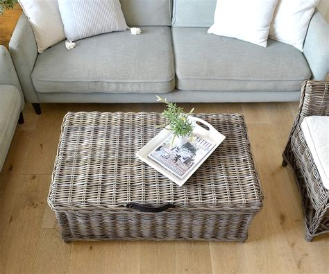 rattan trunk coffee table rattan trunk coffee table antique grey trunk with