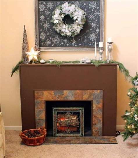 diy faux fireplace this is awesome diy