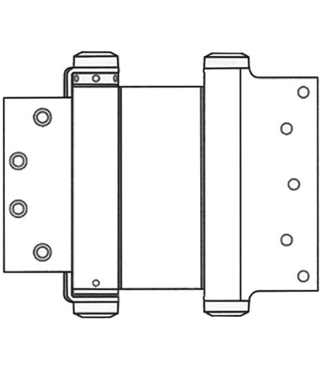 mortise hinge template 8 x 4 1 2 template mortise acting hinge
