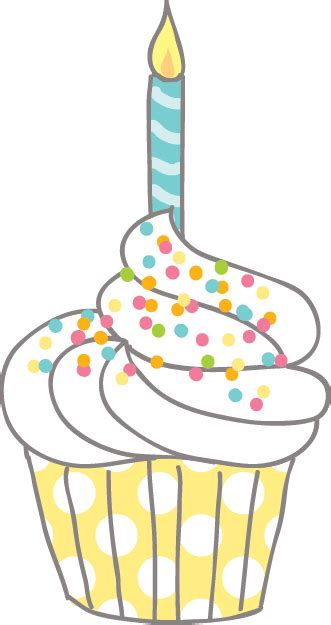 free cupcake clipart birthday cupcake clipart clipartion