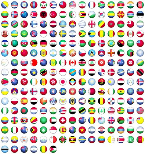 flags of the world download png world flag 233 free icons icon search engine