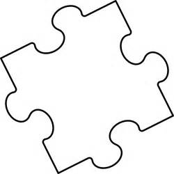 large blank puzzle pieces template blank puzzle clip at clker vector clip