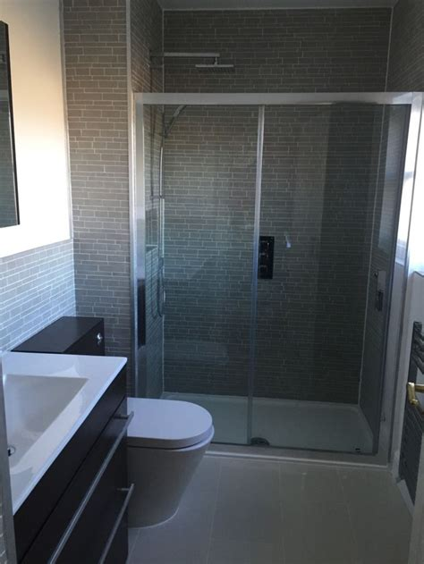 bathrooms st albans vpshareyourstyle fiona from st albans uses dark tiles to