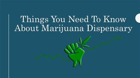 things you need for house things you need to know about marijuana dispensary