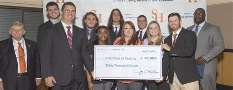 Shsu Mba Admission Requirements by Bank Executives Educational Forums Smith Hutson Endowed