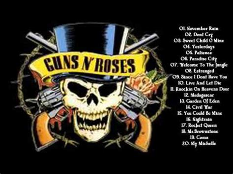 best guns n roses songs best of guns n roses guns n roses s greatest hits