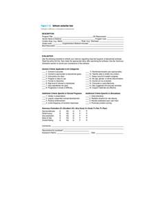 software evaluation form 2 free templates in pdf word
