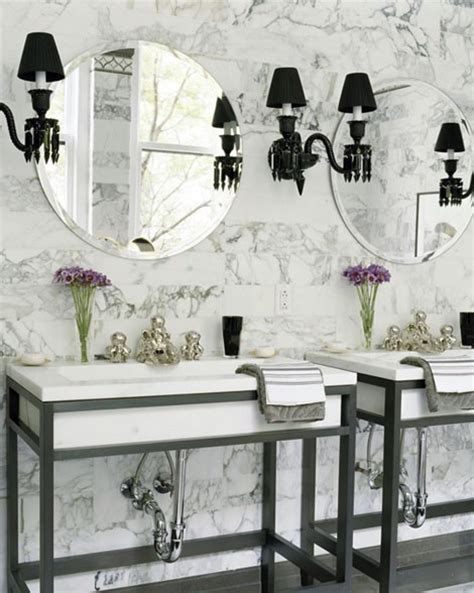 Black And White Bathroom Decor Ideas by 71 Cool Black And White Bathroom Design Ideas Digsdigs