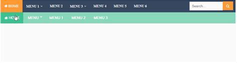 membuat menu header html cara membuat menu navigasi header responsive di blogger