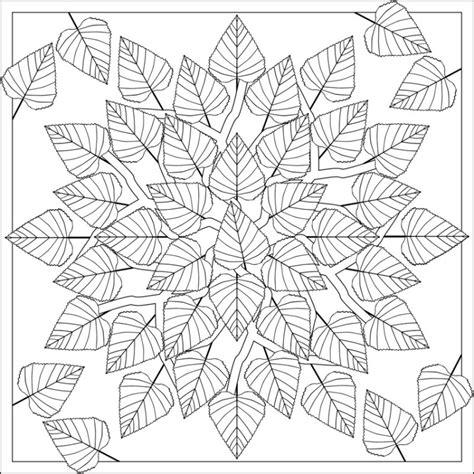 nature mandalas coloring book pdf herbst mandalas f 252 r kinder zum ausdrucken und ausmalen