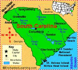 South Carolina State Map by Baby Bee S Journey Pediatric Surgeon Appointment