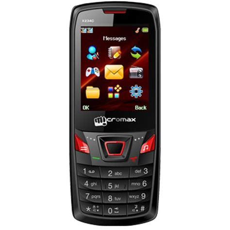 micromax mobile micromax x234c dual sim mobile phone black red best