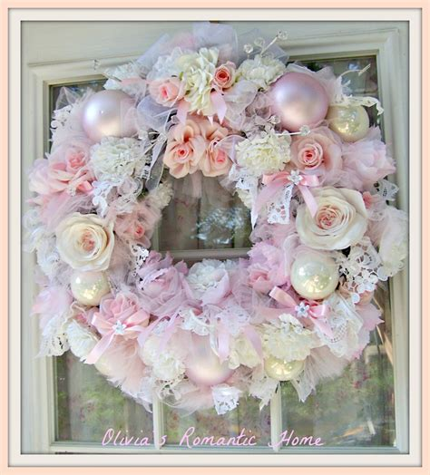 olivia s romantic home romantic rose wreath