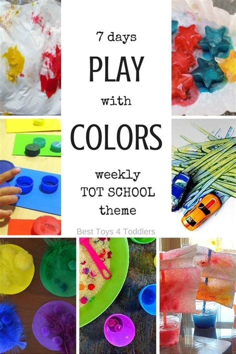 colour themes for preschoolers 17 best images about science color theory on pinterest