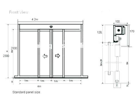 Standard Sliding Door Width Great Patio Door Sizes