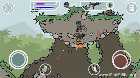 doodle army android room mini militia wall hack fly through walls