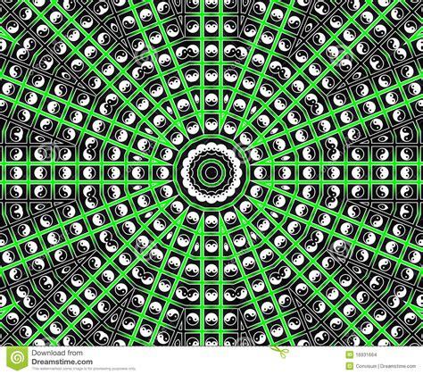 imagenes de mandalas verdes mandala verde de la estrella imagenes de archivo imagen