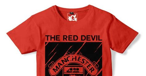Kaos Manchester Is Limited kaos distro bola manchester united 07 the devils