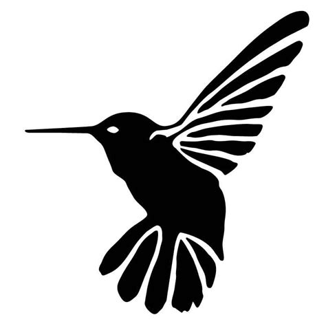 printable hummingbird stencils hummingbird stencil animal stencils for sale on etsy