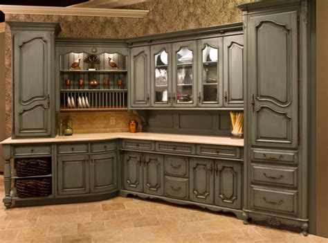 excellent tuscan style kitchen cabinets presenting best