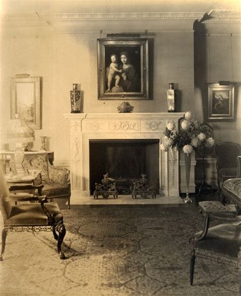 distinctive house design and decor of the twenties 1920s living room in living room at glenallen 1915 1945