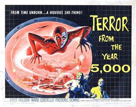 fantasy film sheets uk terror from the year 5000 half sheet freestone print