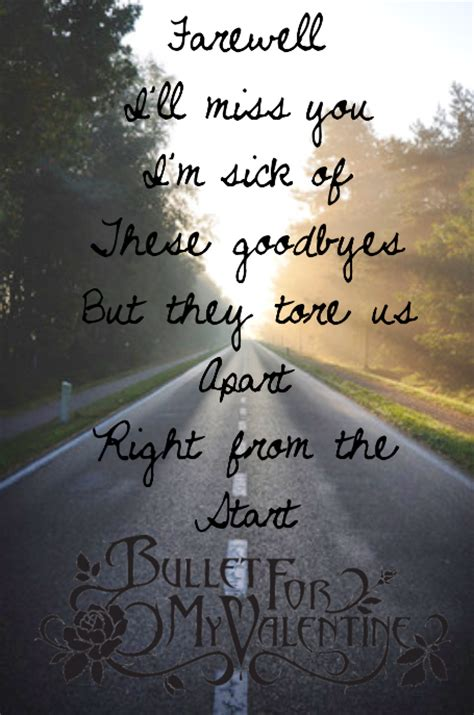 bullet for my song quotes bullet for my lyrics