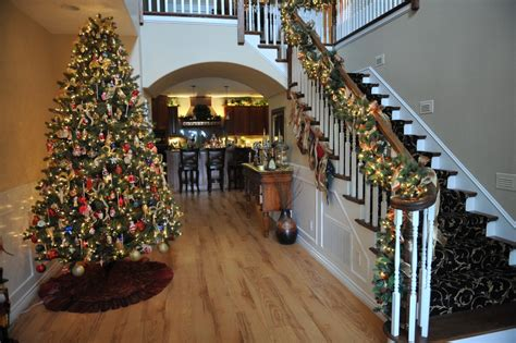 vogue mos beautiful house at christmas home features beautifully decorated trees homes alternative 15838