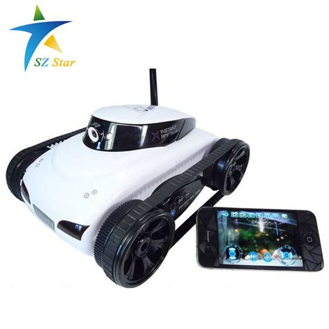 Wifi Tank Mini Ios Android Remote Rc Rechargeable real time mini rc tank app controlled wireless tank i remote robot with