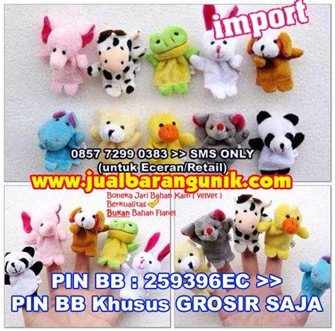 Boneka Jari Animal Boneka Bayi grosir boneka jari 3d animal family binatang