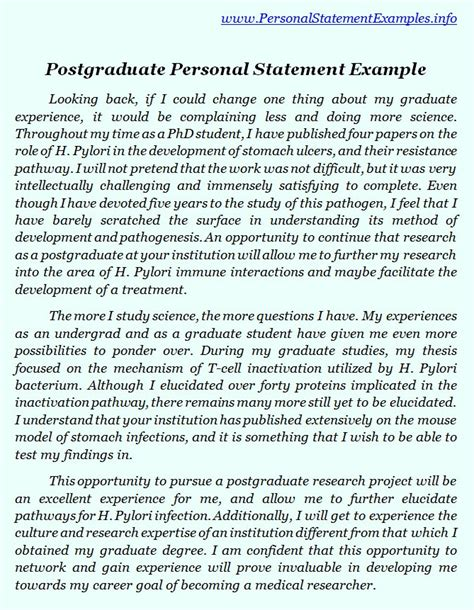 Postgraduate Essay Writing by Postgraduate Personal Statement Exles Gives You By Personalstatement On Deviantart