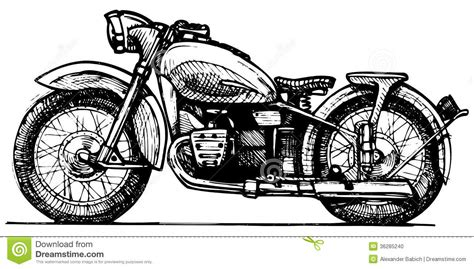 Indian Motorrad Rekord by Drawn Motorcycle Vintage Motorcycle Pencil And In Color