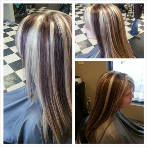 hairstyles with thick highlights chunky highlights for dark brown hair brown hair with