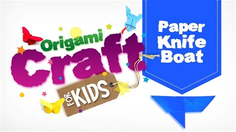 how to make a paper knife boat how to make origami paper knife boat in tamil origami